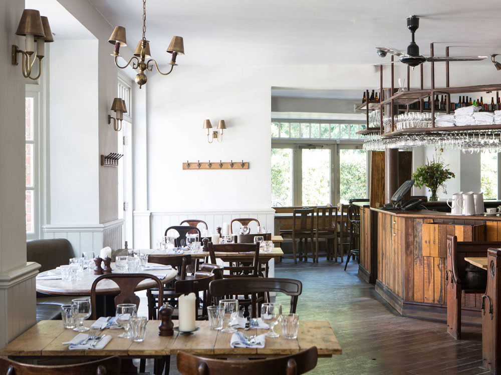 The relaxed, convivial atmosphere of Smokehouse
