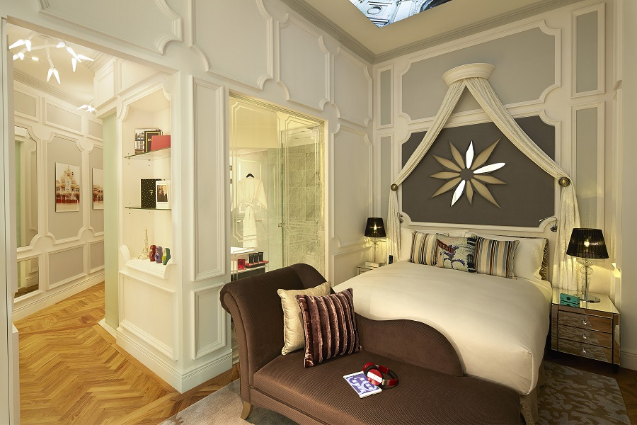 Spacious So Studio rooms are housed in the Heritage Wing of the hotel.