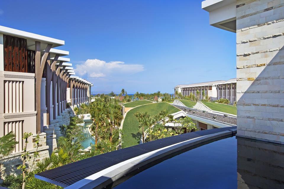 The Sofitel Bali Nusa Dua grounds.