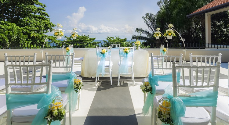 From weddings to business meetings, the resort caters to events of all types.