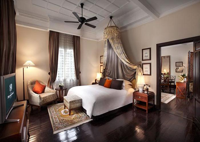 The historic Sofitel Legend Metropole Hanoi has suites named after its most famous guests including Graham Greene, Charlie Chaplin, and W. Somerset Maugham.