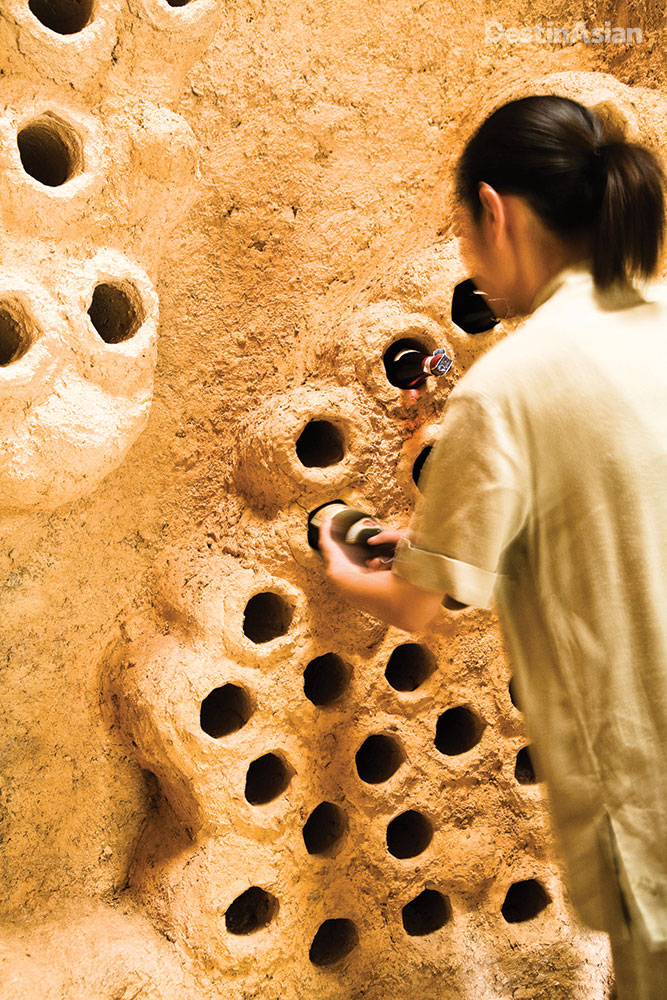 More than half of the 500 wines in Soneva Kiri's clay-walled cellar are organic or biodynamic.