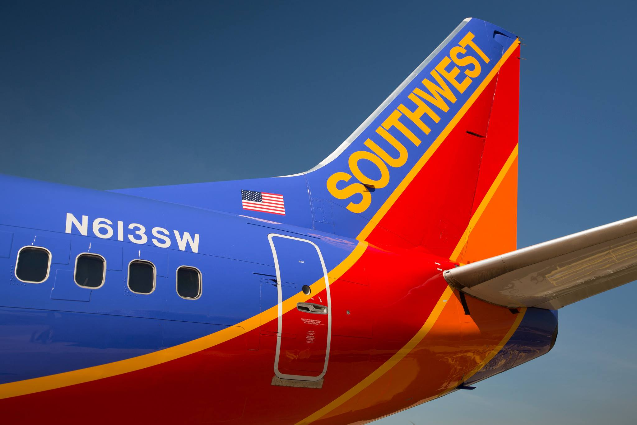Southwest Airlines launched its first international flight to Montego Bay, Jamaica.