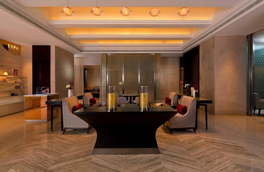The Wilkes-designed reception area.