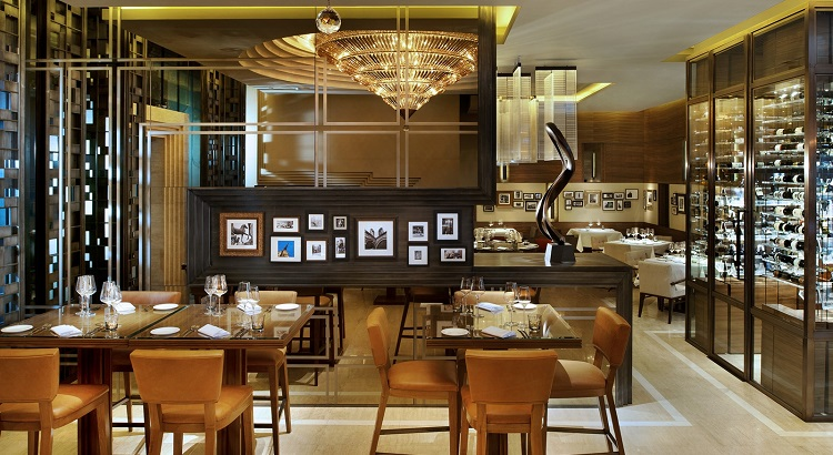Inside the Jojo restaurant at St. Regis Bangkok.