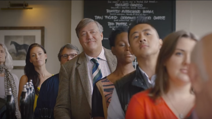 Stephen Fry presents a guide to British etiquette in a video for Heathrow Airport.