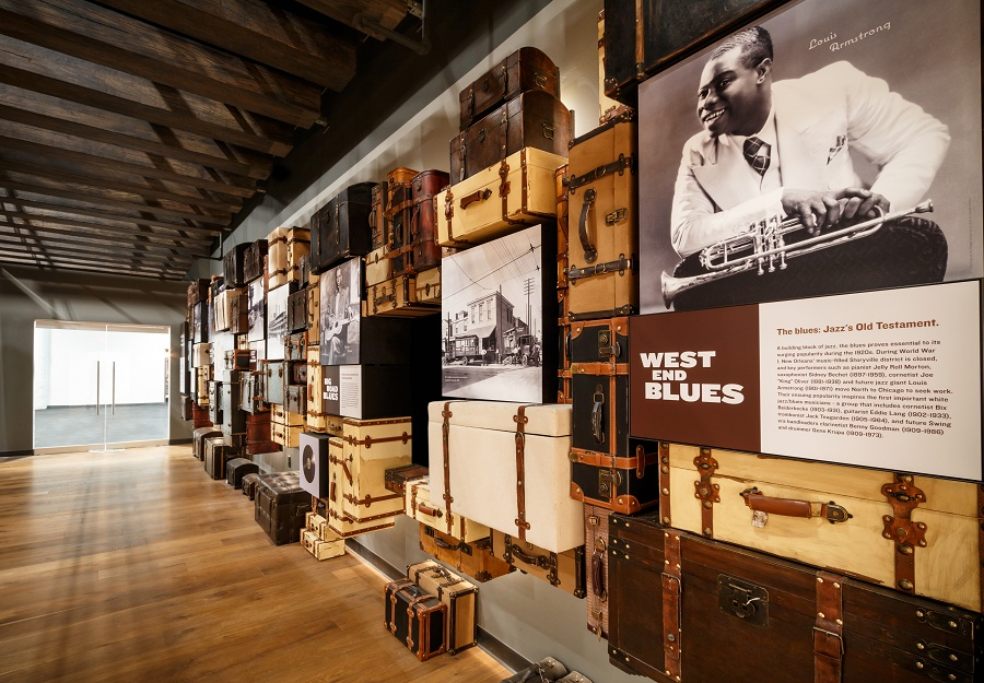 The National Blues Museum opens in April in downtown St. Louis, Missouri.