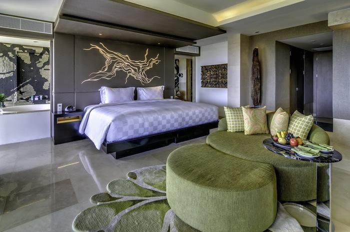 The Jimbaran Bay Suite is 70 square meters.