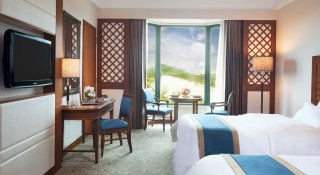 The Superior Room at Sedona Hotel Yangon.