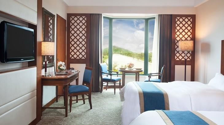 The Superior Room at Sedona Hotel Yangon.