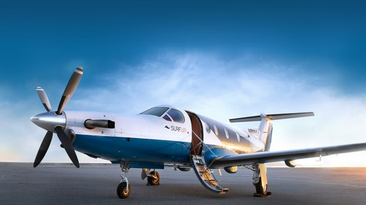 Surf Air announces all-you-can-fly memberships.