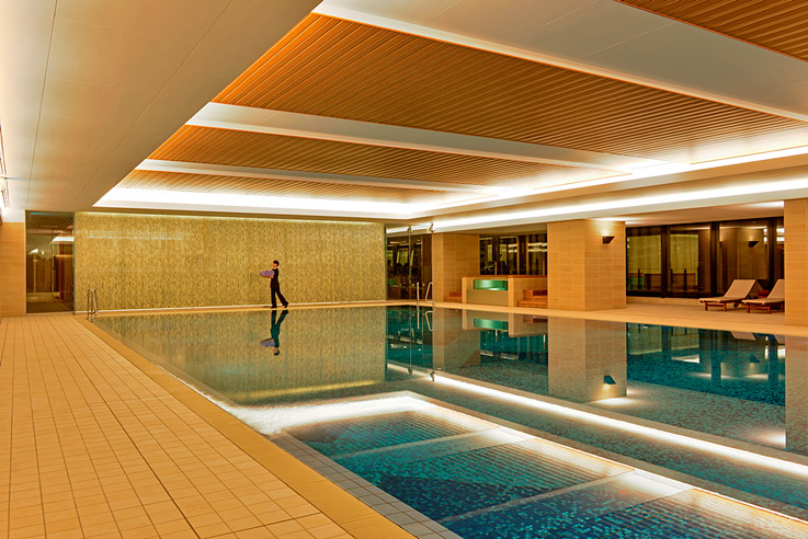 One of the InterContinental Osaka's highlights is its stunning pool.