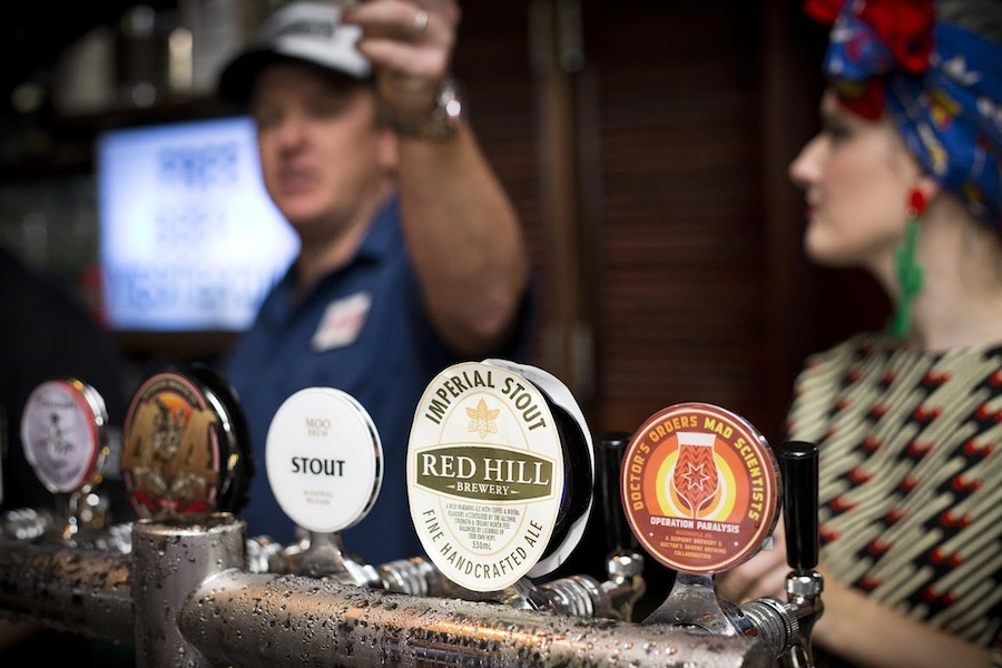 Taps around Sydney feature special selections of microbrews for the city's Craft Beer Week.