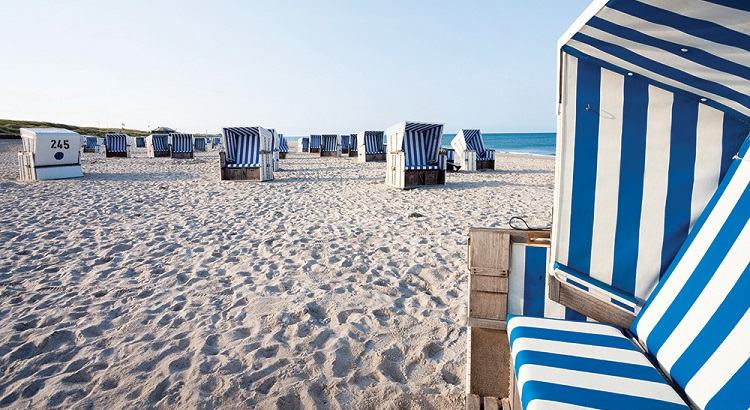 Sylt's beaches are famous for their wicker basket chairs, thousands of which pepper the sand.