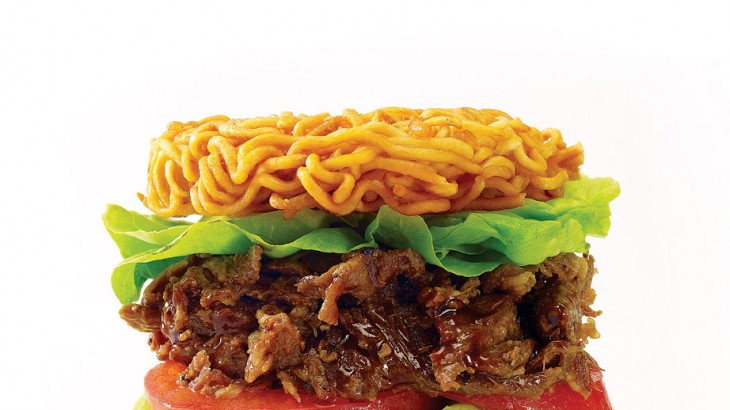 Bulgogi-beef Version Ramen Burger