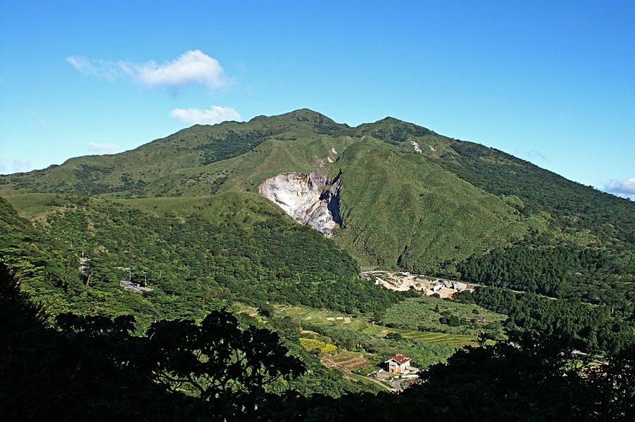 Taipei's Yanmingshan National Park.