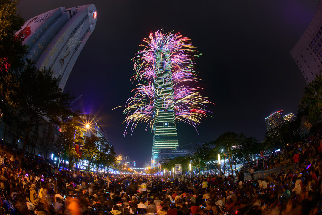 This year, Taipei will unveil a brand new light show alongside its fireworks extravaganza.