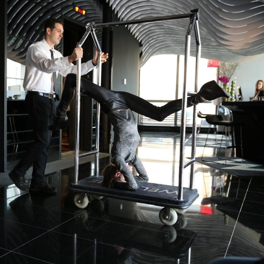 Stiles has crafted in-room yoga workouts for W jetsetters.