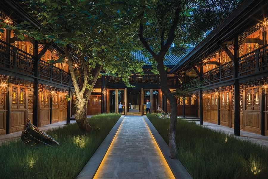 The Temple House provides a refreshingly tranquil atmosphere in the bustling heart of Cheng Du.