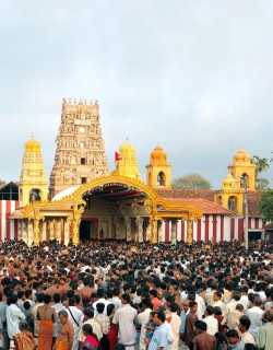Sri Lanka travel: festival at the Kandasamy Kovil in Jaffna