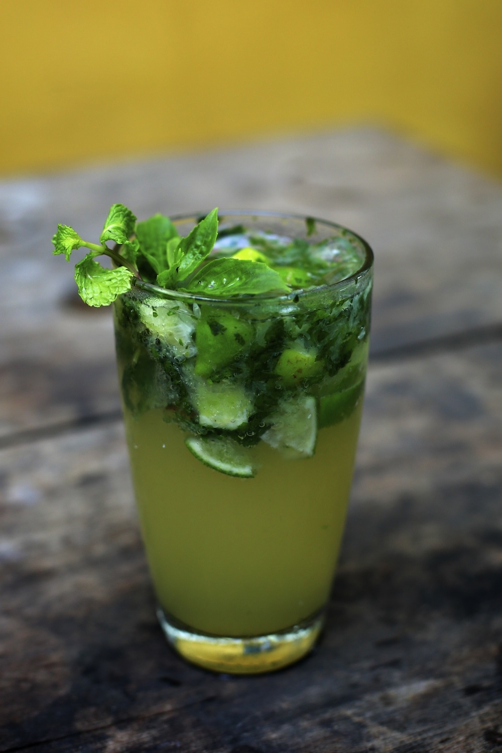 The tepui mojito. Photo by Mona Simon