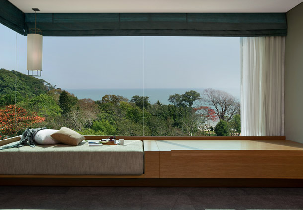 The view from an Ocean View Studio.
