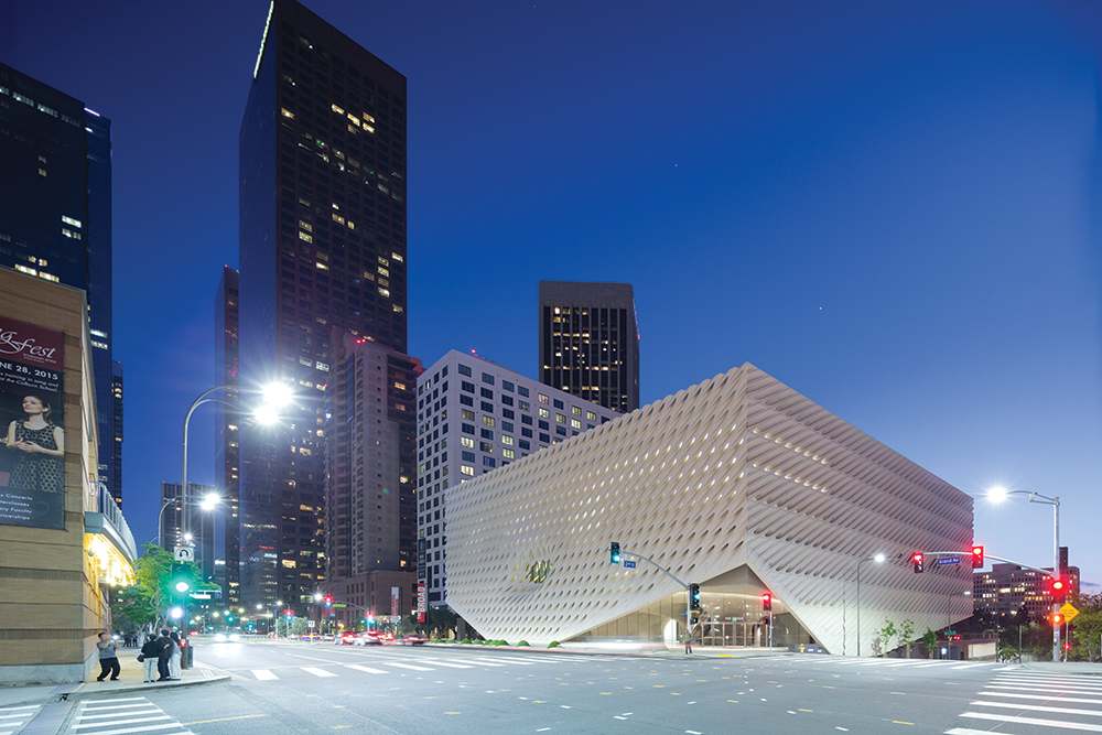 More than 2,000 works from the collection of Eli and Edythe Broad are displayed in the museum.