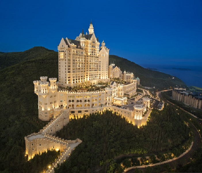 The Castle Hotel in Dalian, Starwood Group's fifth Luxury Collection hotel in China.