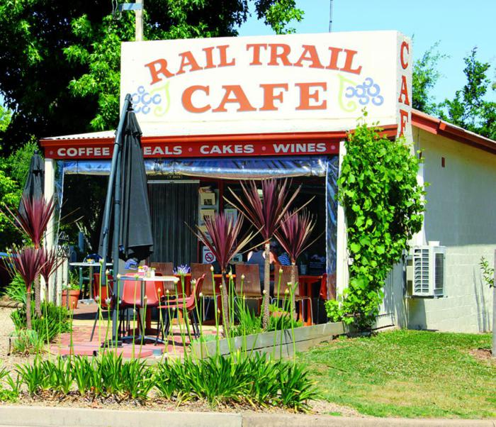 The Rail Trail Cafe.