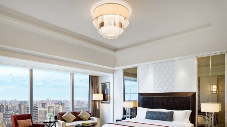 St. Regis Chengdu's Grand Deluxe room
