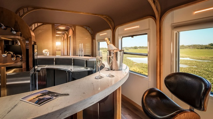 Take a Ride through Vietnam in this Luxury Train Carriage