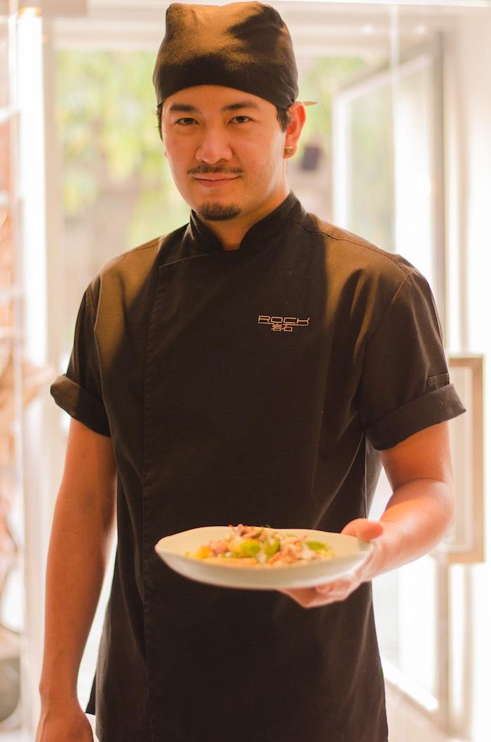 Chef Baimohn of The Rock.