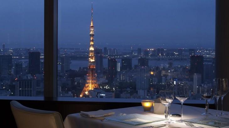 Tokyo hotels: city-view dining at the Ritz-Carlton Tokyo
