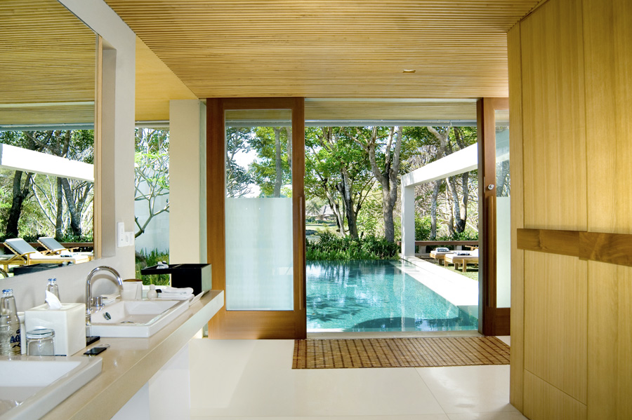 Accommodations at Bali's The Balé.