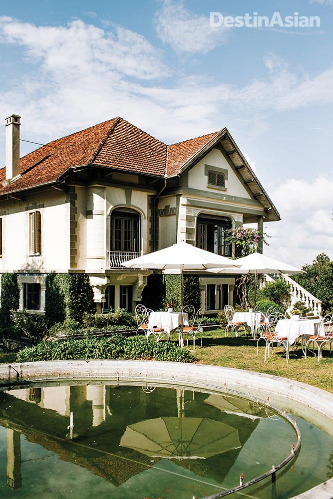 An old French villa on Dalat's Tran Hung Dao Street.