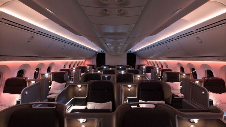 Qantas Welcomes Its First Dreamliner