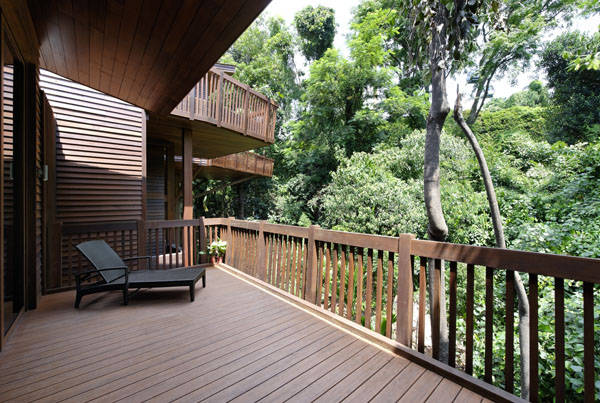 Singapore 39 s sentosa branches out destinasian for Terrace trees