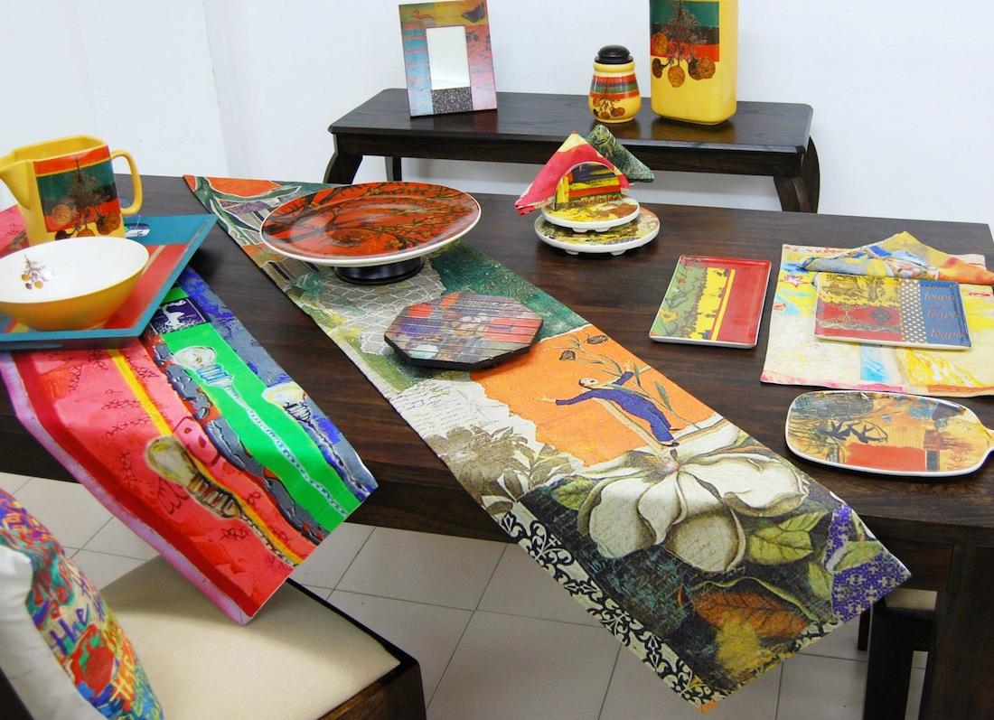 Rising Delhi painter Trishla Jain's line for Fabindia.