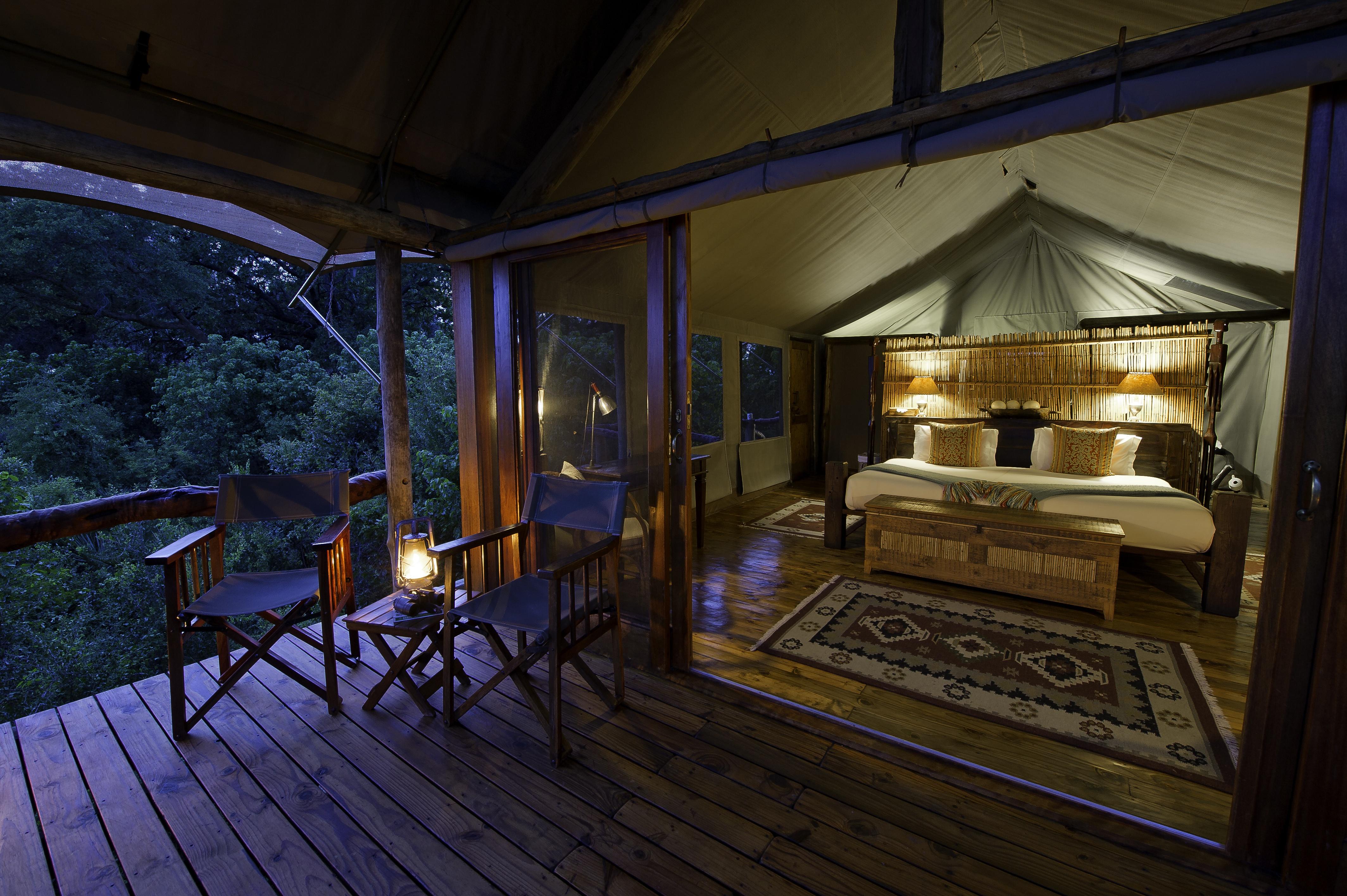 A Tubu tent.