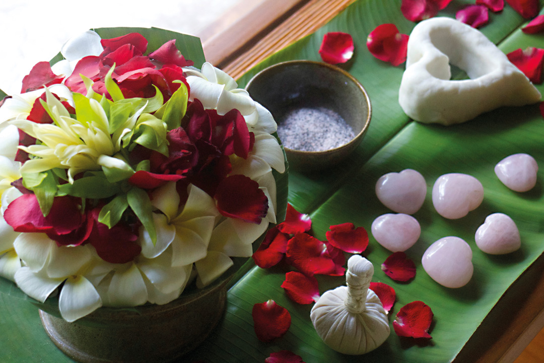 Matters of the heart are the focus of the Four Seasons' Anahata Chakra Ceremony.