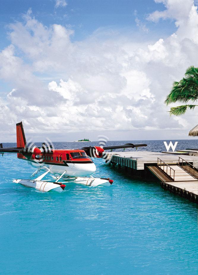 Arriving at W Retreat & Spa Maldives