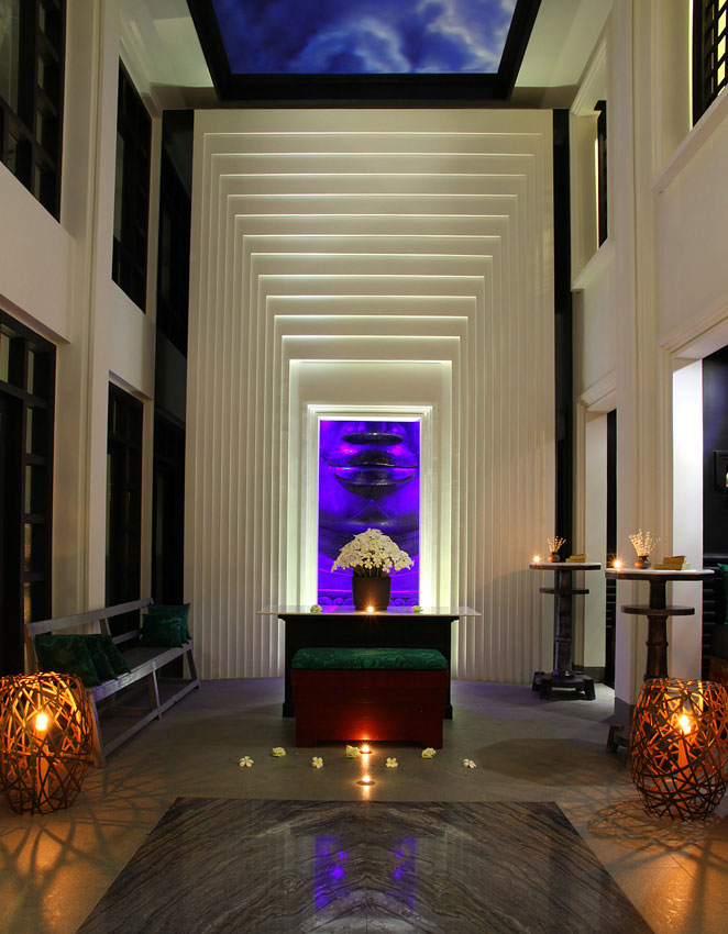 The resort features many alluring Art Deco touches.