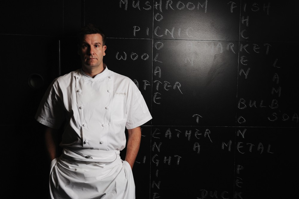 Chef Uwe Opencensky of The Krug Room.