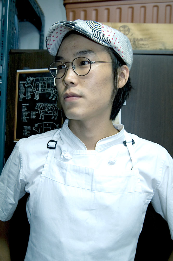 Paris-trained chef Lee Hyung-jun.