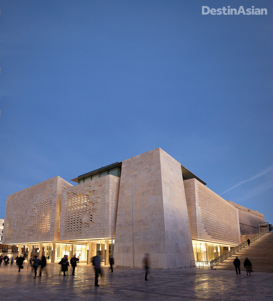 Malta's new Parliament Building, by Renzo Piano.