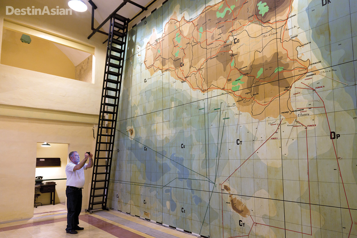 Inside the Lascaris War Rooms, where Allied commanders plotted the 1943 invasion of Sicily.