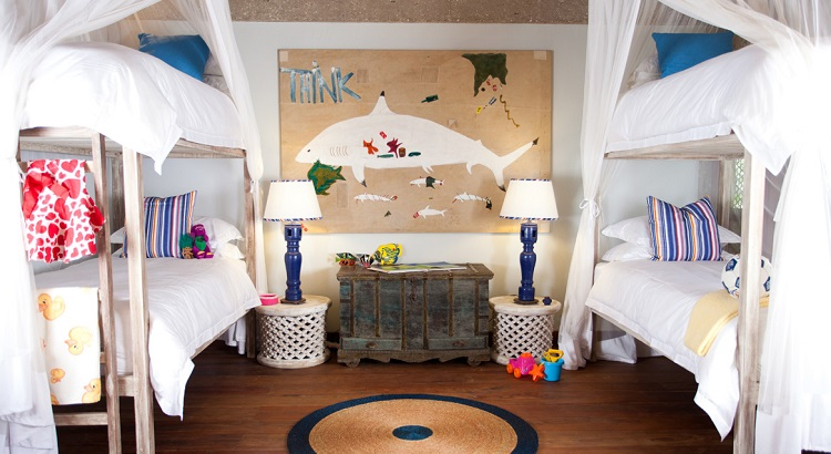 A special room for children for those traveling with their family.