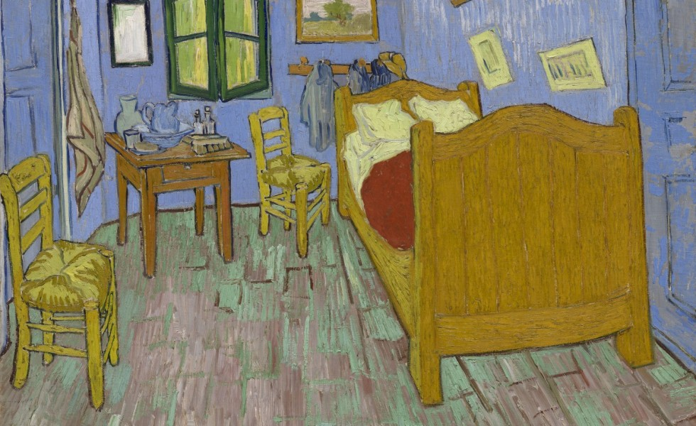 Vincent Van Gogh's 'The Bedroom'.