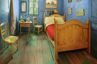 This real-life version of van Gogh's painting is available for just US$10 a night on Airbnb.