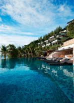 Koh Samui resorts: the pool.